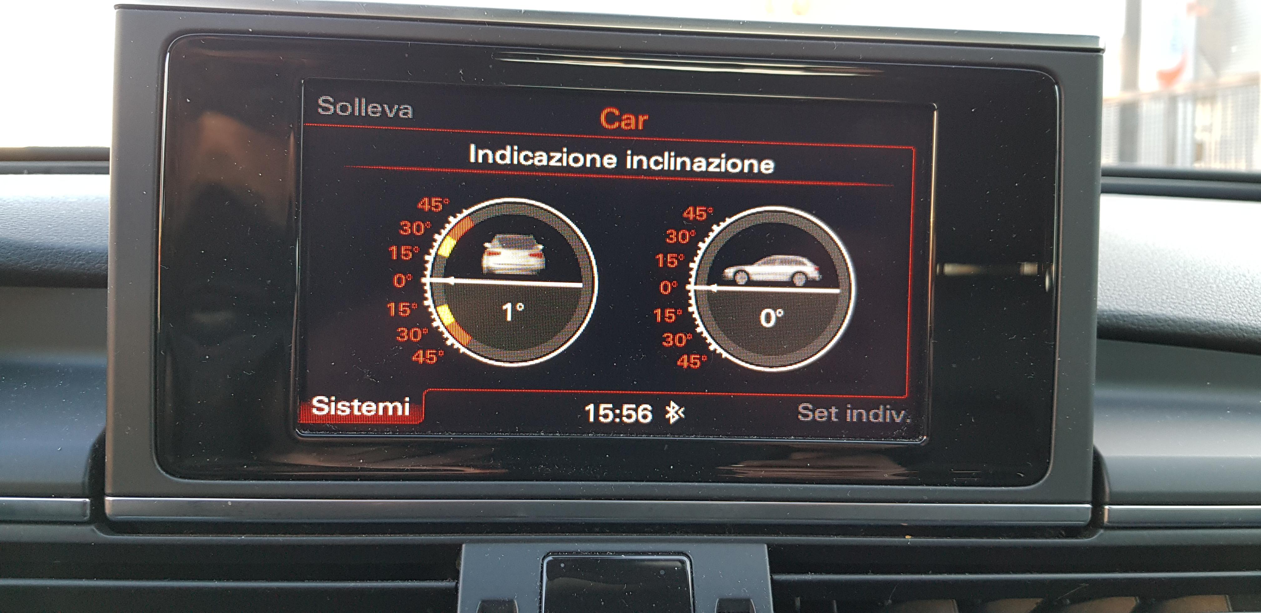 Audi A6 Allroad Quattro Avant 3.0 TDI V6, con regolazione elettronica delle sospensioni e tecnologia adattiva: un sistema che gestisce la distribuzione della trazione integrale per garantire il massimo delle performance, del comfort e della sicurezza.